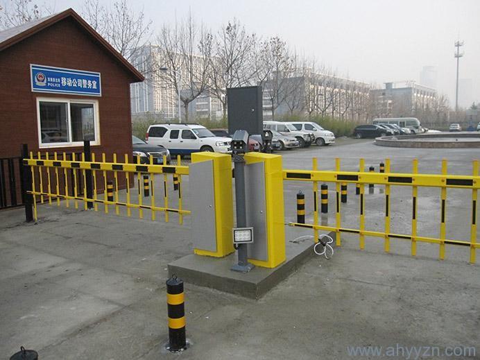 合肥车牌识别停车场管理系统